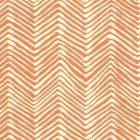 AP303-12 PETITE ZIG ZAG Salmon On Off White Quadrille Wallpaper