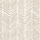 AP303-5 PETITE ZIG ZAG Sand On Almost White Quadrille Wallpaper