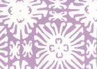 2485WP-05 SIGOURNEY REVERSE SMALL SCALE Lavender On White Quadrille Wallpaper