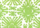 2475WP-02 SIGOURNEY SMALL SCALE Jungle Green On White Quadrille Wallpaper