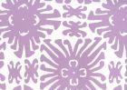 2475WP-05 SIGOURNEY SMALL SCALE Lavender On White Quadrille Wallpaper