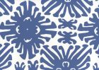 2475WP-08 SIGOURNEY SMALL SCALE New Navy On White Quadrille Wallpaper