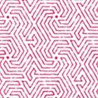 2510-02WP MAZE Magenta Quadrille Wallpaper