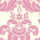 302152W MONTY Old Pink On Almost White Quadrille Wallpaper