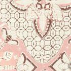 6430-14 NEW BATIK Soft Pink Brown on Tint Quadrille Fabric