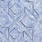 6280-04WP PARQUETRY Navy French Blue On White Quadrille Wallpaper