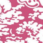 2335-36WP SAN MARCO REVERSE Magenta On White Quadrille Wallpaper