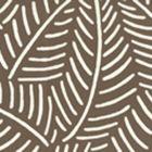 CP1025W-08 SAUVAGE REVERSE Brown On Almost White Quadrille Wallpaper