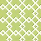 302796W TODD Green On Almost White Quadrille Wallpaper
