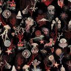 WH0 0003 3324 CORAIL Noir Scalamandre Wallpaper