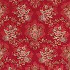 ZA 1769CARL CARLOS LAMPAS Scarlet Old World Weavers Fabric