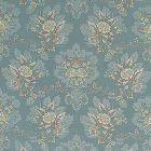 ZA 1771CARL CARLOS LAMPAS Aqua Old World Weavers Fabric