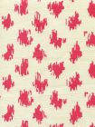 7340-07T ZIZI SPOT Magenta on Tint Quadrille Fabric