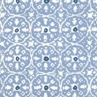 149-56WP NITIK II French Blue Navy On Almost White Quadrille Wallpaper