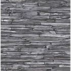 2922-22352 McGuire Stacked Slate Grey Brewster Wallpaper