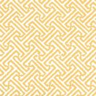 3080-19WP JAVA JAVA Yellow On White Quadrille Wallpaper