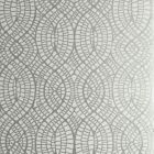 50276W WEDGEPORT Silver Ivory 01 Fabricut Wallpaper