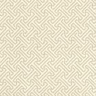 622-19 JAVA PETITE Almond On Off White Quadrille Wallpaper