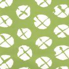 6655WP-03 OBI II REVERSE Jungle Green On Almost White Quadrille Wallpaper