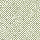 6890WP-12 JAVA JAVA Bali Green On White Quadrille Wallpaper