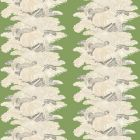 90002W LES PLUMES Savoy Cabbage 02 Vervain Wallpaper