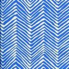 AC303-35 PETITE ZIG ZAG Pacific Blue on Tint Quadrille Fabric
