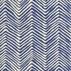 AC303-39 PETITE ZIG ZAG New Navy on Tint Quadrille Fabric