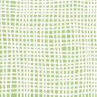 AP40303 CRISS CROSS Green On White Quadrille Wallpaper
