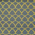 CL 0027 26714 RONDO Oro Bluette Scalamandre Fabric