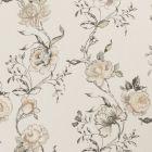 F0424/01 CLARISSE Charcoal Clarke & Clarke Fabric
