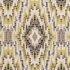 F0691/01 MOSAIC Chartreuse Clarke & Clarke Fabric