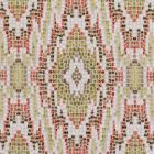 F0691/07 MOSAIC Spice Clarke & Clarke Fabric