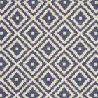 F0810/06 TAHOMA Indigo Clarke & Clarke Fabric