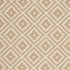 F0810/13 TAHOMA Sand Clarke & Clarke Fabric