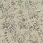 F1048/04 SISSINGHURST Heather Olive Clarke & Clarke Fabric
