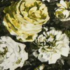 F1088/02 FLORETTA Charcoal Antique Clarke & Clarke Fabric