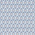 F1379/02 ZORA Denim Spice Clarke & Clarke Fabric