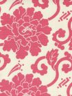 8230-04 FLORALS Magenta on Tint Quadrille Fabric