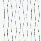 GW 0004 27206 EYELET WAVE Marine Scalamandre Fabric