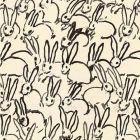 GWF-3523-8 HUTCH PRINT Black Groundworks Fabric