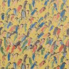 GWP-3412-453 FINCHES Multi Gold Groundworks Wallpaper