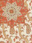 HC1970C-04 KASHMIR EXOTIQUE Oranges  Quadrille Fabric