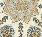 Hc1490f 04 Persepolis Brown Blue On Flax Quadrille Fabric Discount Fabric And Wallpaper Online Store