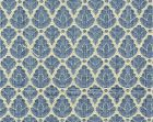 CL 001726714 RONDO Blue Linen Scalamandre Fabric
