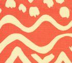 AC104-34 DEAUVILLE New Shrimp on Tint Quadrille Fabric