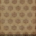 010971T HEXAGON Taupe Quadrille Fabric