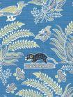 2320-04 MALAY BATIK French Blue Quadrille Fabric