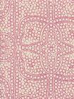 CP1000-07 PERSIA Flamingo on Taj Ecru Quadrille Fabric