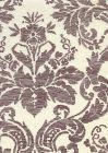302319F-CU VICTORIA Mocha on Tint Quadrille Fabric