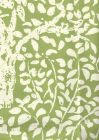 2035-02WP ARBRE DE MATISSE REVERSE Jungle Green Quadrille Wallpaper